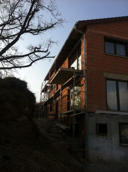 Gut gemocht Vorbereitung des Aussenputzes   Hausbau, ein Baublog HG34