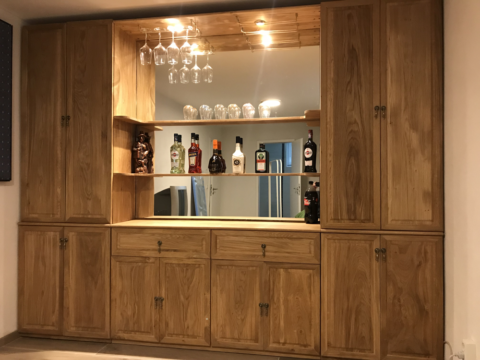 Schank-Bar aus Eiche