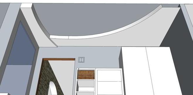 bau einer abgeh ngter designdecke mit leuchten hausbau ein baublog. Black Bedroom Furniture Sets. Home Design Ideas