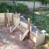 Betonfundament für Gartenhaus und Hangsicherung