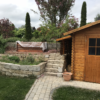 Hochbeet aus Terrassenholz