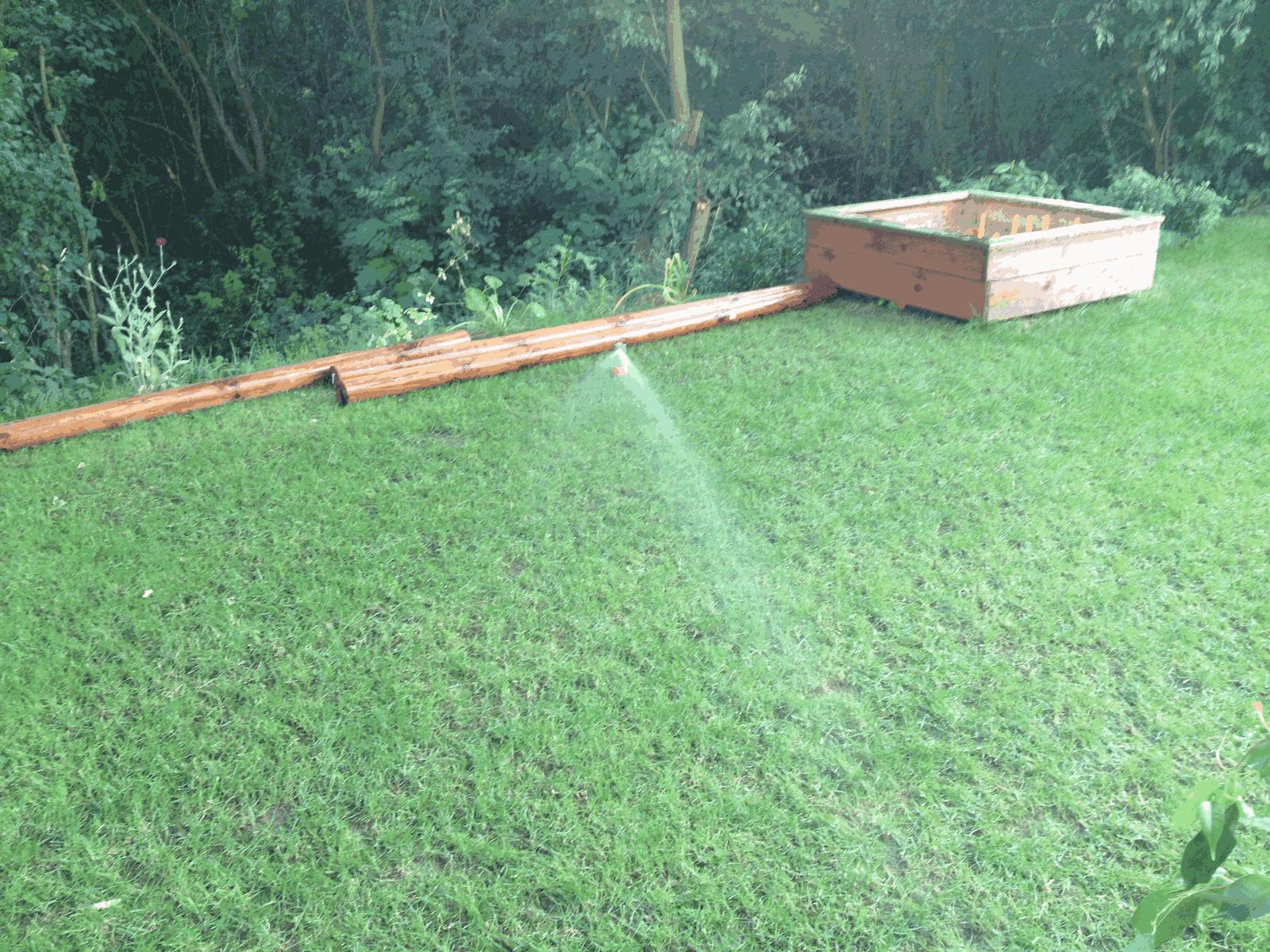 Rasen Bewässerungssystem rasen bewässerung hausbau ein baublog