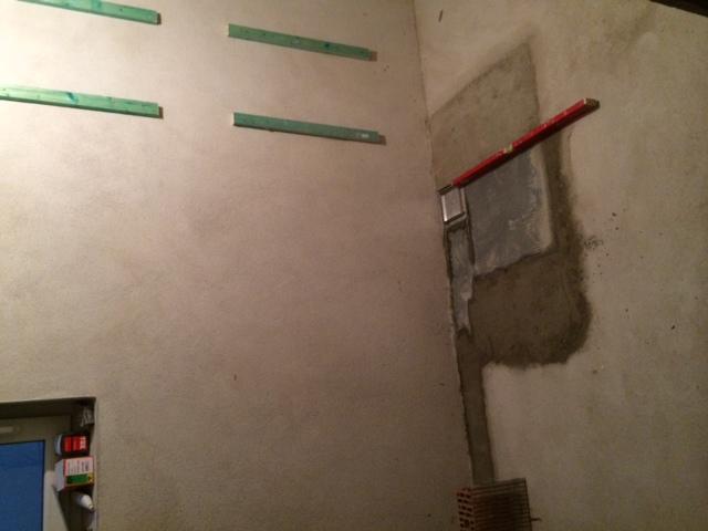sauna teil 1 vorbereitung des bodens f r die bodengleiche dusche hausbau ein baublog. Black Bedroom Furniture Sets. Home Design Ideas