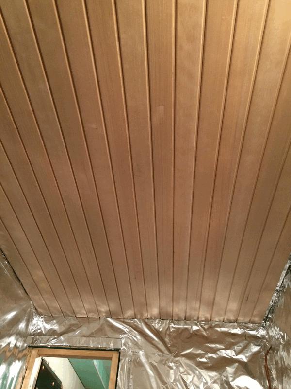 sauna teil 4 profilholz in sauna hausbau ein baublog. Black Bedroom Furniture Sets. Home Design Ideas